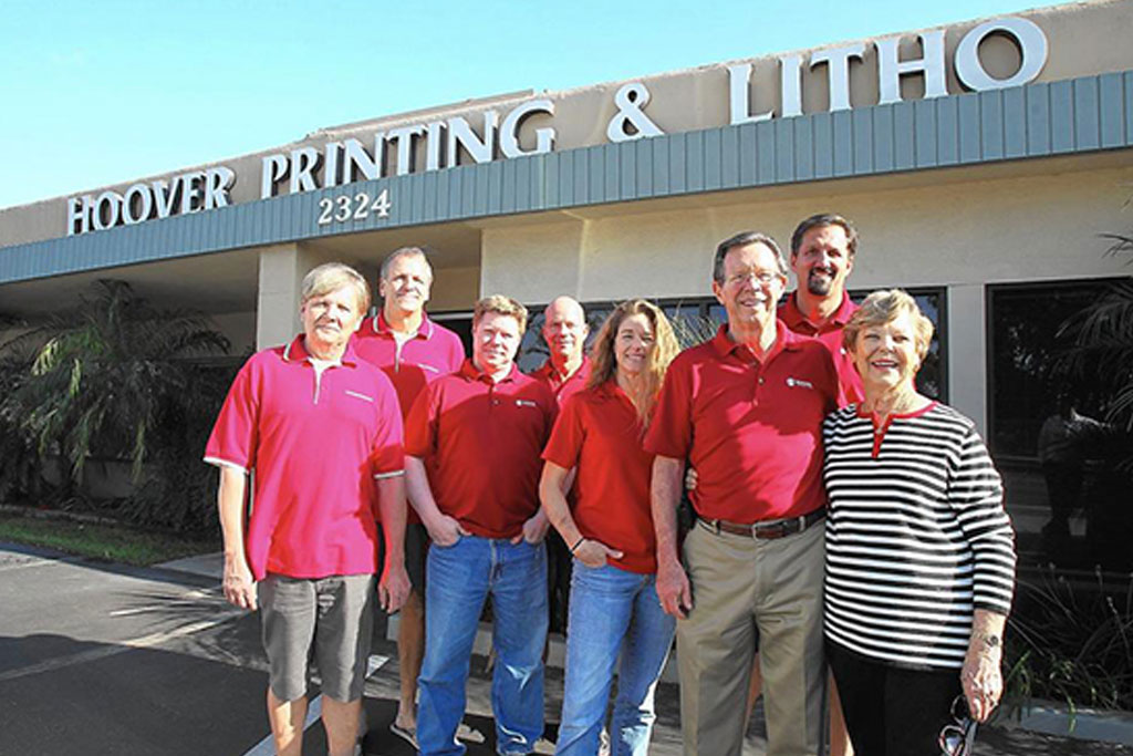 Old-school printing keeps business humming